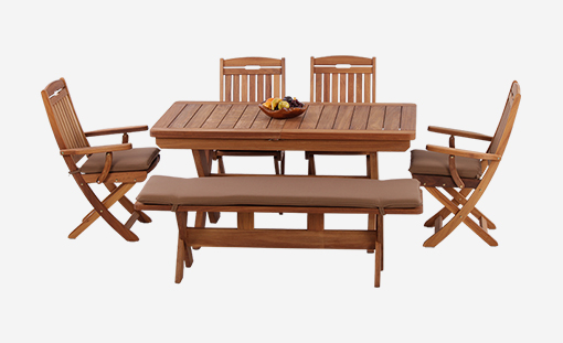Garden Table & Chair Set